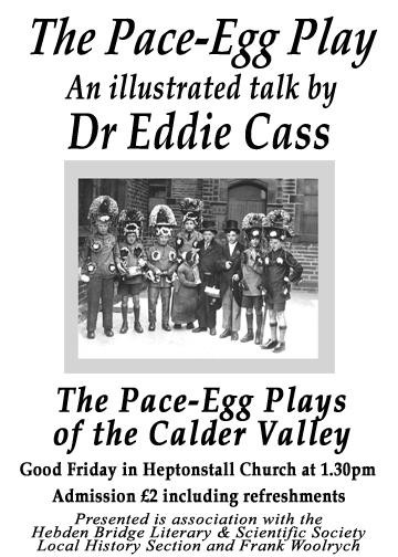 Poster for Lecture by Eddie Cass, March 2005